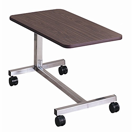 Generic NV_1008003090_YC-US2 Tableerb Computer Hospital Tilt Drive Medical ter H Bed Tray Bedside al Be Overbed Non-Tilt y Bed Tray Table Drive M by Generic