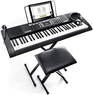 Alesis Melody 61 MKII - 61 Key Music Keyboard / Digital Piano with Built-In Speakers, Headphones, Microphone,