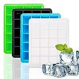 kitchenaid 15 ice machine - Bazzano 6-Cavity Silicone Cube Ice Pudding Jelly Soap Maker Perfect Tray Kitchen Tools 464E443