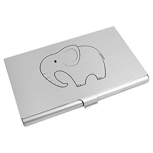 CH00004158 Card Business Holder Azeeda Credit 'Elephant' Card Business Wallet Holder Card Azeeda 'Elephant' qwZ7fxU