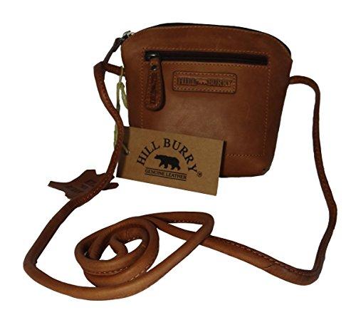 Hill Burry Tasche, Ledertasche,Vintage, Damen,Handtasche,kleine Abendtasche cognac