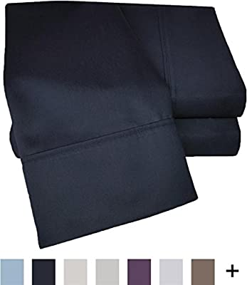 Impressions Cotton Blend 1000 Thread Count, Deep Pocket, Soft, Wrinkle Resistant 3-Piece