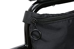 Pembrook Wheelchair Pouch Bag - Great simple accessory pack for your mobility devices. Fits most Scooters, Walkers, Rollators - Manual, Powered or Electric Wheelchairs from Pembrook