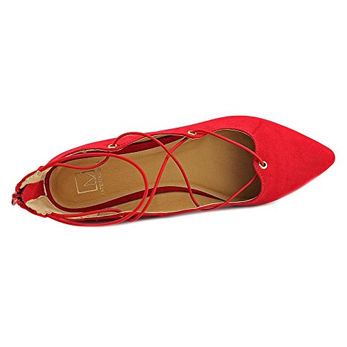 Material Girl Mibby Women US 9.5 Red Ballet Flats zk4JX