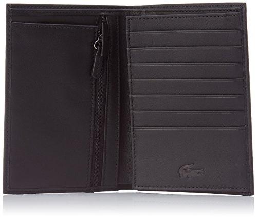 nh2322il Vertical Taille Portefeuille black Cm Lacoste 15 Noir 5Eq815w