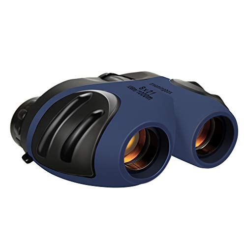 Dreamingbox Gift for 3-12 Year Old Boys, Compact Binoculars for Kids Teen Girls 2019 New Xmas Gifts Toys for 3-12 Year Old Girls Boys Gifts for 3-12 Age Girls Stocking Fillers Navy Blue TGUS011 (2019 For Teens Gifts Christmas)