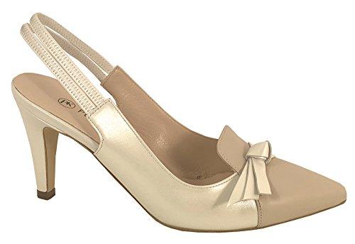 Peter Kaiser Court Shoe - Ellesa 76137 Beige