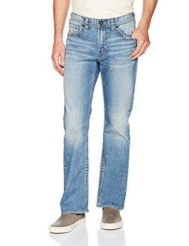(Silver Jeans Men's Co Craig Bootcut, Light Marble Indigo, 44x36)