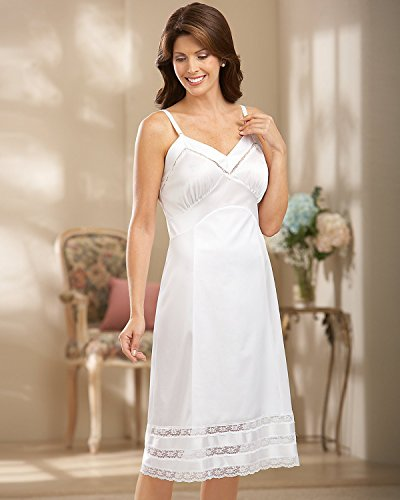 Velrose Snip-It Full Slip, White, 36