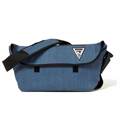 日用品 ショルダーバッグ 関連商品 熱着加工 防水メッセンジャーバッグ デニムブルー B07F76LS1T