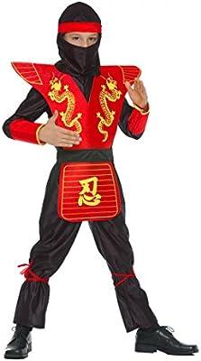 Disfraz de ninja para niño: Amazon.es: Juguetes y juegos
