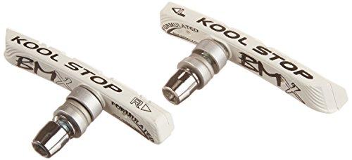 Free shipping kool stop bmx threaded brake pads white