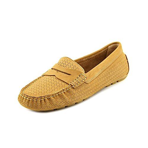 Lauren Ralph Lauren Camila Women US 6.5 Tan Moc Loafer
