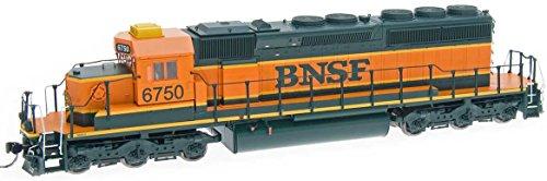(Intermountain HO-Scale EMD SD40-2 Diesel BNSF Heritage 1 (Pumpkin Scheme) DCC)