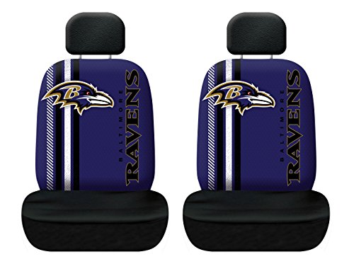 (Fremont Die NFL Baltimore Ravens Rally Seat Cover, One Size,)