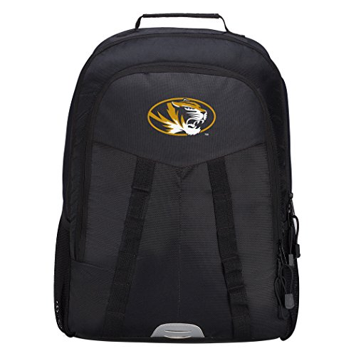 Officially Licensed NCAA Missouri Tigers Scorcher Sports Backpack, Black