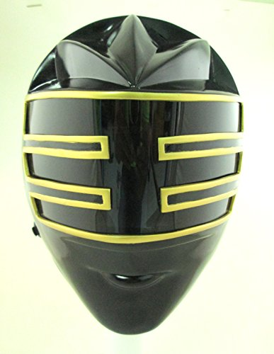 Mighty Morphin Power Gold Zeo Rangers Wearable Helmet Halloween Costume ()
