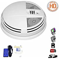 DAY & NIGHT VISION HIGH DEFINITION HD 1280x720 SMOKE DETECTOR DVR HIDDEN SPY CAMERA UP TO 64GB SD - BOTTOM VIEW