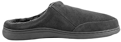 Tamarac Slippers Men's Koosh Spa Scuff Charcoal International Grey by 4r4qwBA