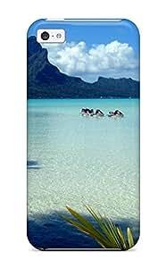 5200151K88203631 Iphone 5c Case Cover Skin : Premium High Quality Bora Bora Case