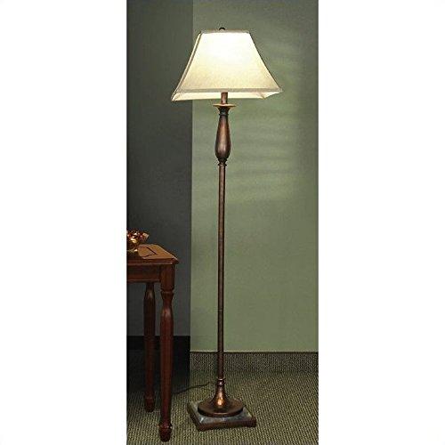 Coaster Home Furnishings 901204 Transitional Lamp, (Bronze Shaded Floor Lamp)
