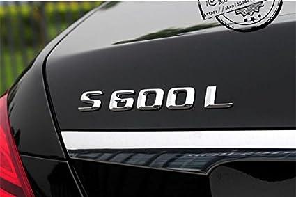 Amazoncom E800 S600l Emblem Badge Auto Aufkleber 3d