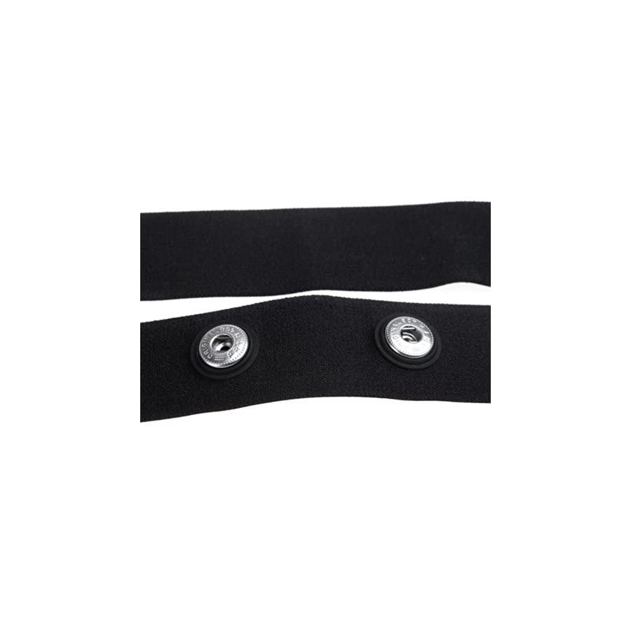 Anself Chest Belt Strap for Polar Wahoo Garmin for Sports Wireless Heart Rate Monitor