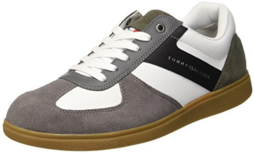 D2285anny Tommy Grey 039 Basses Gris Sneakers Steel 1c1 Homme Hilfiger 5AxqAZ7