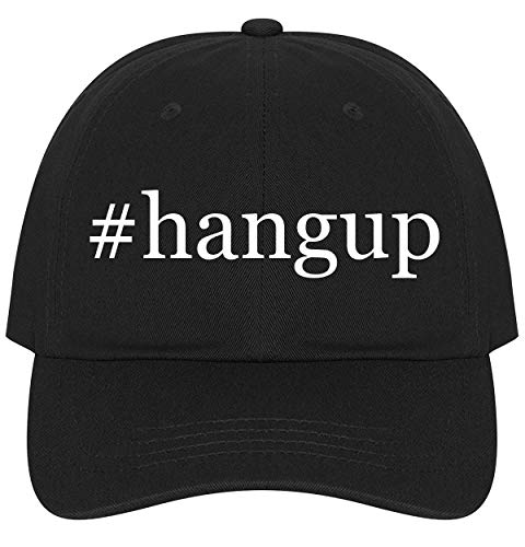 - The Town Butler #Hangup - A Nice Comfortable Adjustable Hashtag Dad Hat Cap, Black