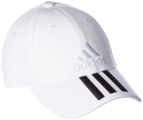 Adidas Cap Classic 3-Stripes White Hat BK0806 One Size Fits Most - Adidas 3 Stripe Hat