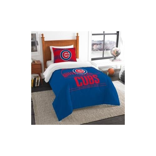Northwest Chicago Cubs MLB Twin Comforter Set (Grand Slam...