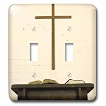 3dRose lsp_94332_2 Tennessee Church Cross Bible Pulpit Us43 Bja0006 Jaynes Gallery Double Toggle Switch