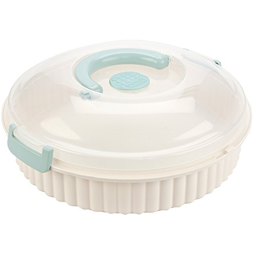 (Sweet Creations, vented, locking multi purpose pie carrier, cookies, party platter)
