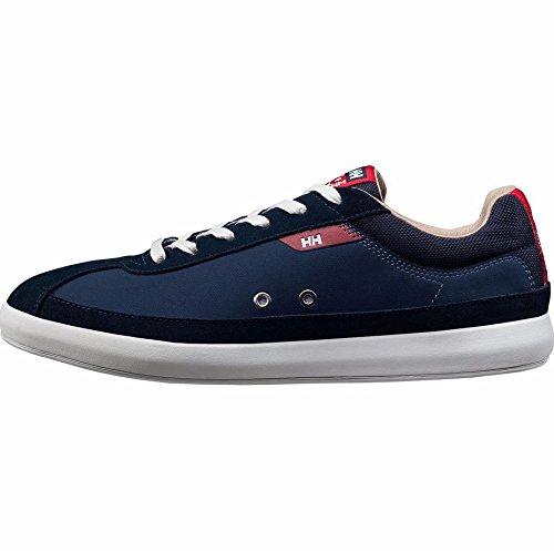 Helly Hansen Vesterly, Zapatillas de Vela para Hombre Azul (Navy/Red/Incense/Off)