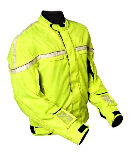 Electro Luminescent Panel - GlowRider Electro-Luminescent Jacket (Neon, X-Large)