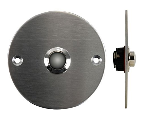 Velleman DBB4 Stainless Steel Doorbell Push Button, Multi-Colour by Velleman (Image #1)