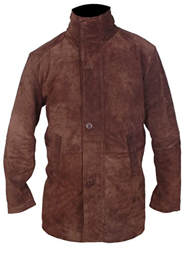 Flesh   Hide F H Men s Sheriff Walt Longmire Robert Taylor Genuine Leather  Coat at Amazon Men s Clothing store  bb6e176cdd