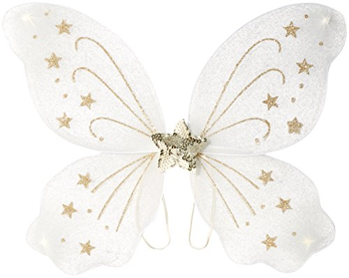[Mud Pie Baby Girl's Halloween Costume,  Fairy Wings,  One Size] (Fairy Costumes Girl)