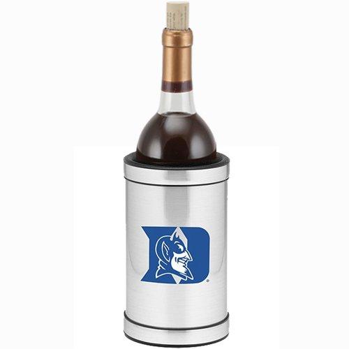 Devils Bucket Ncaa Ice (NCAA Wine Chiller in Brushed Chrome Team: Duke)