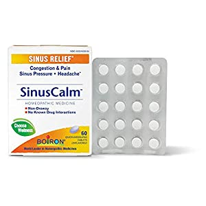 Well-Being-Matters 41xHcfufJ5L._SS300_ Boiron Sinuscalm Sinus Relief Medicine, Tablets for Runny Nose, Congestion, Sinus Pressure, Headache, Tablets, Non…