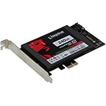 SEDNA PCI Express (PCIe) SATA III (6G) SSD Adapter with 1 SATA III Port (With Built In Power Circuit , no need SATA Power connector, best for Mac), SSD not included