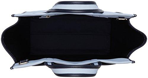Tommy Hilfiger Heritage Tote Cnvs Corp Strp - Borse Donna, Blau (Corp Stripe), 18x30x38 cm (B x H T)