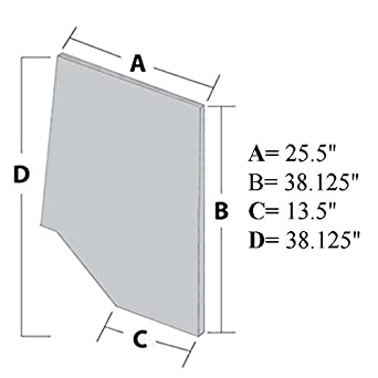 Amazon.com: 109584C2 New Cab Door Gl Made for Case-IH ... on