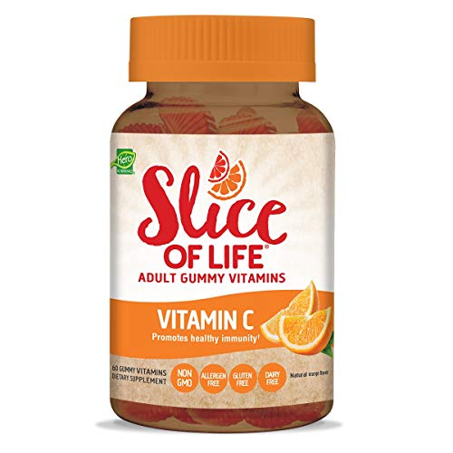 Hero Nutritionals | Slice of Life | Adult Gummy Vitamins | Vitamin C | 250 mg Per Serving | Essential Nutrients | Dietary Supplement | Promotes Healthy Immunity| Non-GMO & -