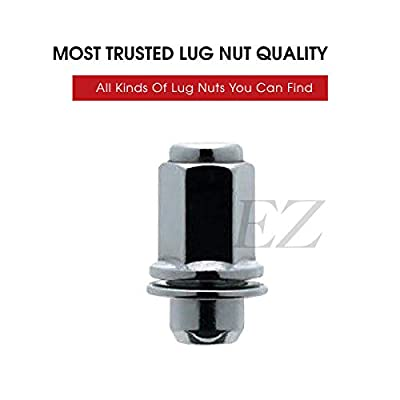 24 Mag Lug Nuts For 6 Lug Toyota Factory Alloy Wheels on Chevy Truck 14x1.5 Thread Size: Automotive