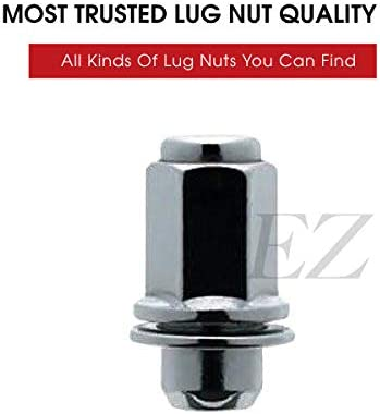 24 Mag Lug Nuts For 6 Lug Toyota Factory Alloy Wheels on Chevy Truck 14x1.5 Thread Size