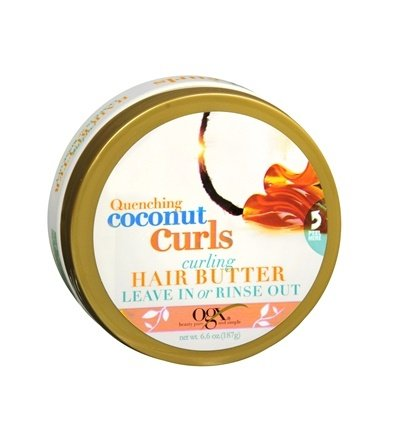 Ogx Quenching Coconut Curls Curling Hair Butter 6.6oz  by OG