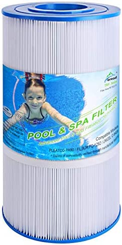 TOREAD Pool Filter Replaces Pleatco PA90 CX900RE C900 Unicel C-8409 Filbur FC-1292 Posi-Clear Sta-Rite PXC95 Clearwater II ProClean 100 Aladdin 19002 25230-0095S 90 sq.ft Cartridge 1 Pack