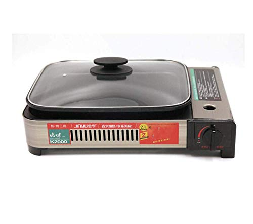 Camping Stove, Cassette Furnace Multi-Function Frying Oven, Outdoor Gas Gas Stove, Household Picnic Grill
