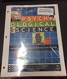 Amazon psychological science fifth edition 9780393937497 psychological science 5th ed university of mississippi psy 201 general psychology custom edition fandeluxe Images
